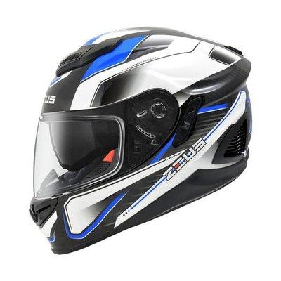 ZEUS 瑞獅安全帽,ZS-1600,AK4/藍~送鏡片