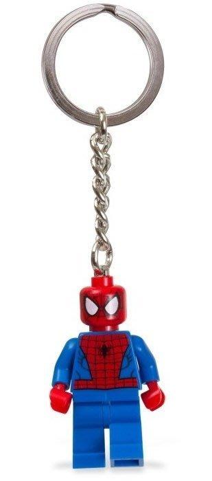現貨【LEGO 樂高】美國官網正品 積木 鑰匙圈 人偶 吊飾/ 超級英雄系列: 蜘蛛人 Spider man