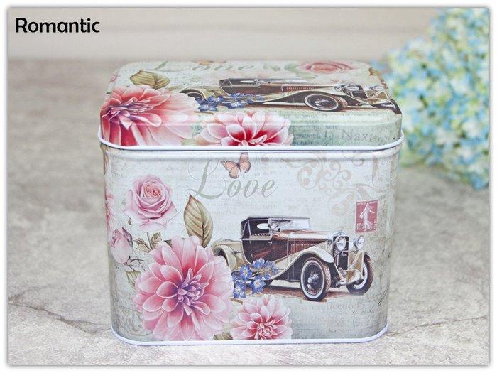 浪漫派飾品 P94 夢幻老爺車 收納盒 鐵盒 包裝