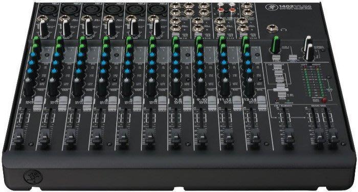【六絃樂器】全新 Mackie 1402VLZ4 14軌 混音器 / 舞台音響設備 專業PA器材
