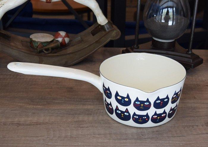 【喬瑟芬的秘密】日本製 單炳琺瑯牛奶鍋1.2L 特價$1350