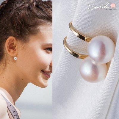 【21A55】SMILE-精緻小巧‧經典氣質百搭珍珠耳環
