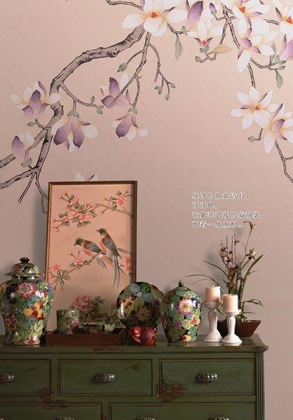 【芮洛蔓 La Romance】手繪絲綢壁紙 ZW01-009B-07 / 壁飾 / 畫飾