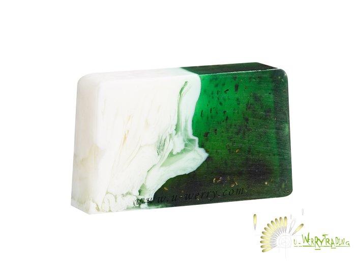 【宇優生技】浪漫繽紛情人最佳放鬆享受,歐洲原裝進口 PEPPERMINT歐薄荷 天然手工有機橄欖油香氛SPA滋養手工皂