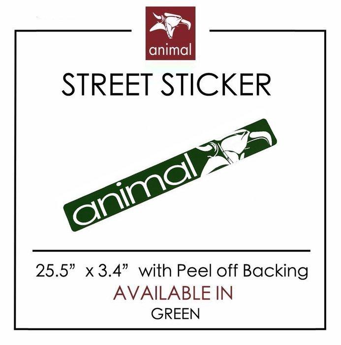 Spun Shop  Animal Bikes Street Sticker 大型防水貼