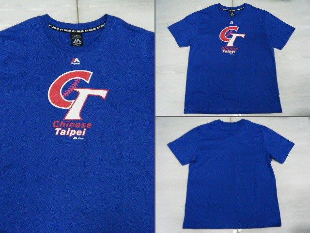 新莊新太陽 MLB 大聯盟 6730202-550 中華台北 CT 代表隊 印花 T恤 只有L號 特810