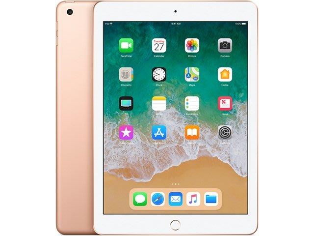 全新 Apple iPad 9.7 (2018) LTE 128GB 支援 Apple Pencil 觸控筆 平版電腦