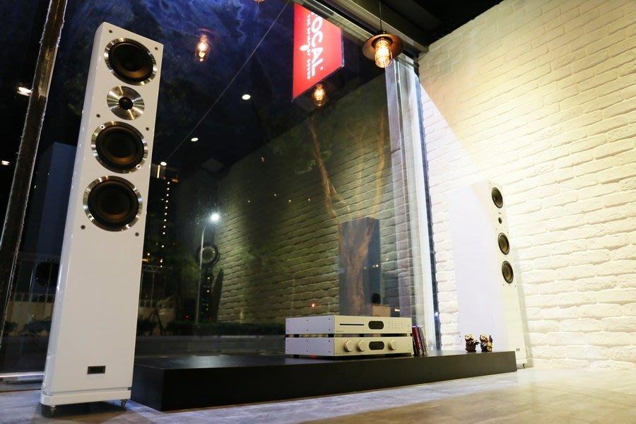 【林口豪韻音響】德國 HECO Celan GT 602 落地型喇叭 鋼烤白 展示品出清優惠