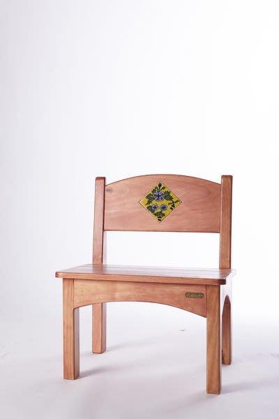原木工坊~  室內設計空間規劃   原木崁磚茶椅