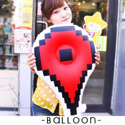 讚 氣球 5折專區 派對 道具 婚禮 打卡 地標 ( 充氣氣球-印刷微NG )  點擊手 箭頭 iHOME愛雜貨
