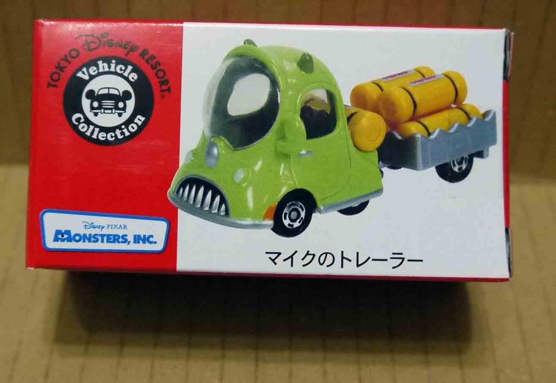 【想飛玩具】TOMICA  東京 迪士尼樂園 限定  怪獸大學 大眼仔 運輸車