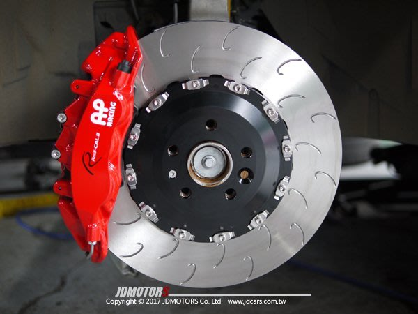 JD-MOTORS AP Racing 9560六活塞 AP390mm全浮動碟盤組 LEXUS RX200T RX450
