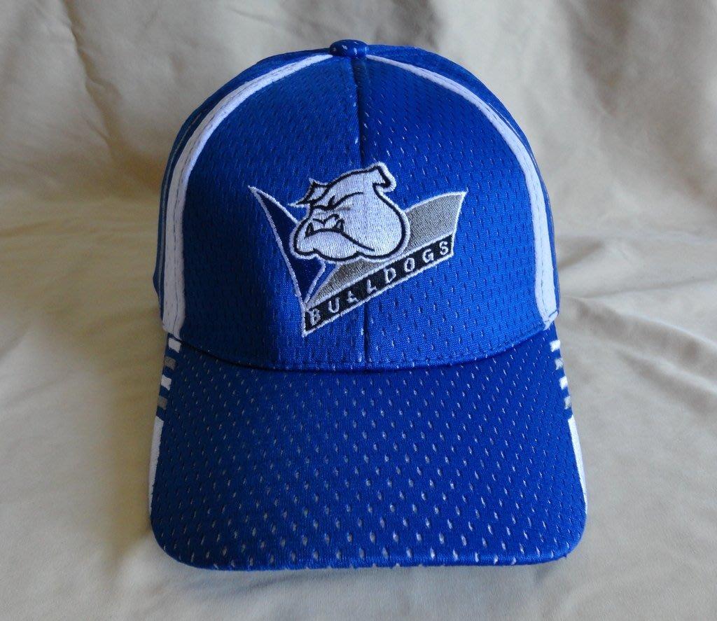 澳洲 英式橄欖球 Rugby 牛頭犬 球帽 NRL BULLDOGS 運動帽 遮陽帽 藍色