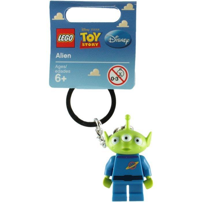 絕版品【LEGO 樂高】全新正品 積木 鑰匙圈 人偶 吊飾 玩具總動員 Toy Story | 三眼怪 Alien