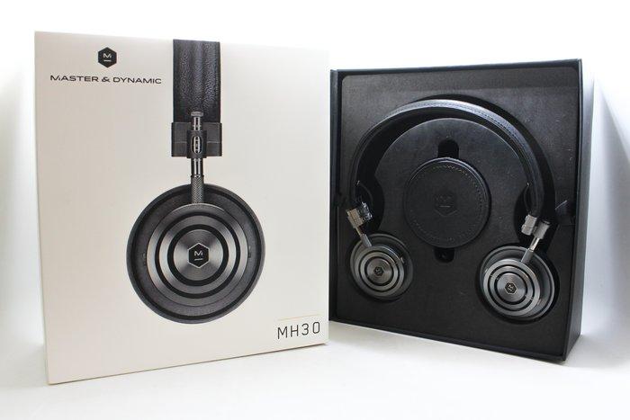 【高雄青蘋果】 Master&Dynamic MH30 密閉式耳罩耳機 黑 中古耳罩耳機  #24497