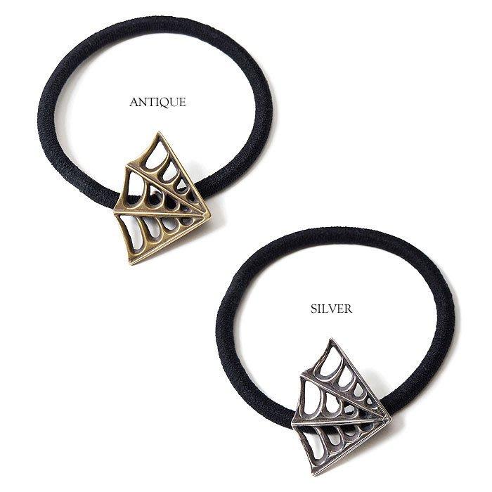 GOODFORIT / 日本品牌CLUCT SPIDER WEB Concho刺青風格蜘蛛網黃銅髮帶手環