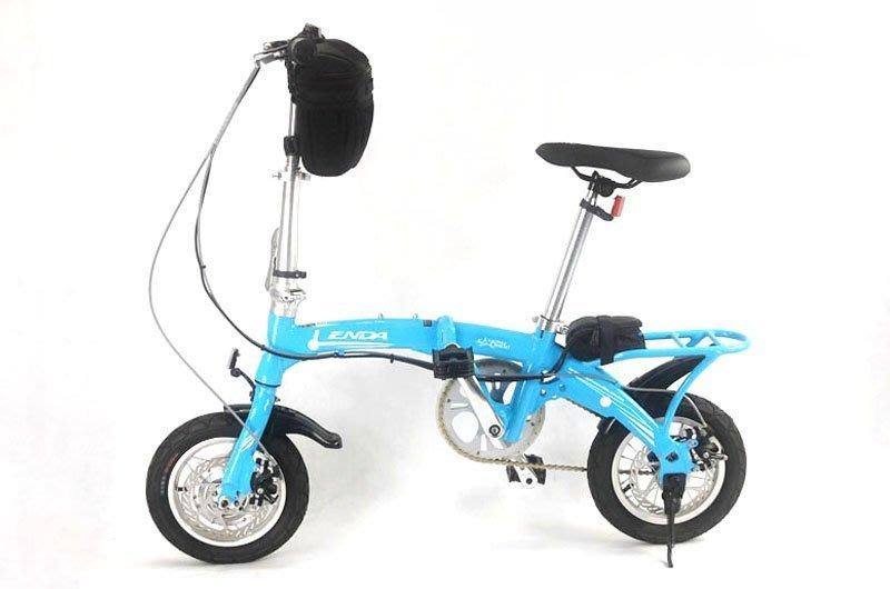 【台南創能電動車】12吋鋁合金電動折疊車/電動腳踏車/電動自行車/折疊電動車