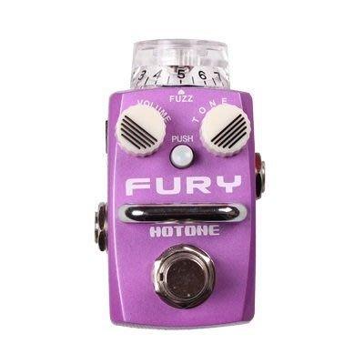 ☆ 唐尼樂器︵☆公司貨一年保固 Hotone FURY Fuzz 電吉他/電貝斯 Bass 單顆破音效果器