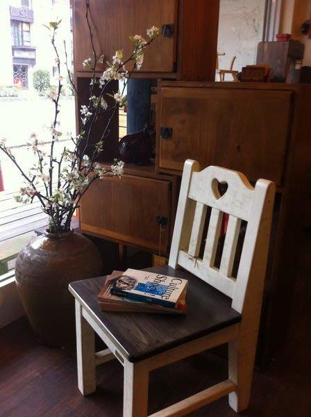 原木工坊~室內裝潢空間規劃   歐風原木椅  餐桌及工作桌皆可搭配  顏色多變可選擇