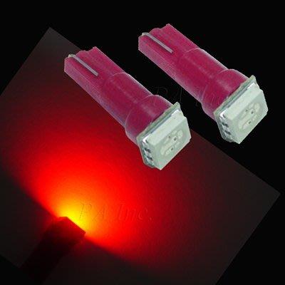 【PA LED】T5 T6.5 SMD LED 紅光 排檔燈 儀表燈 儀表指示燈 中控燈 冷氣燈 面板燈 檔位燈