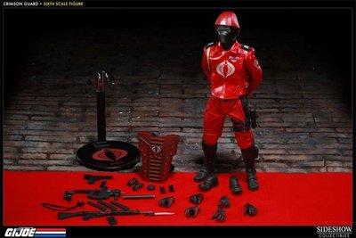 sideshow #100039 G.I.JOE Crimson Guard corba 眼鏡蛇部隊