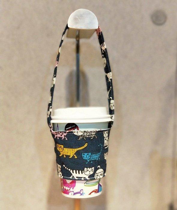 (正妹的店)環保飲料提袋 超商咖啡提袋 手摇飲料提袋 柴犬 臘腸狗 喵星人