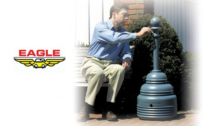 GOODFORIT / 美國Eagle Mfg 1208工業級戶外安全煙灰缸座/5 gal/米白、鐵灰、霧黑