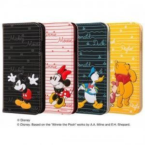 尼德斯Nydus 日本正版 迪士尼 翻頁皮套 手機殼 保護殼 米奇 米妮 唐老鴨 小熊維尼 4.7吋 iPhone7