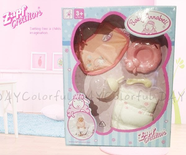 Colorful DAY 德國Zapf Creation Baby Annabell嬰兒娃娃用品配件 服飾鞋組