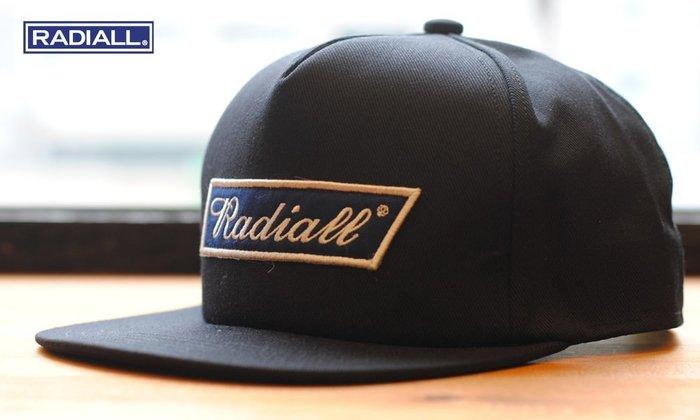 GOODFORIT / 日本品牌Radiall CVS Trucker Cap定番帽型貼布帽款/兩色
