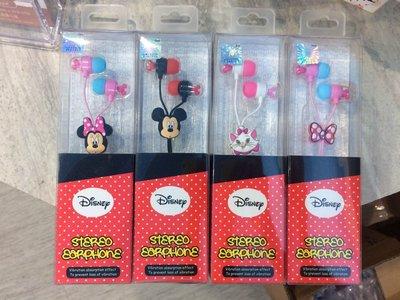 {天使小舖} 迪士尼 可爱立体卡通造型耳机 入耳式耳机 各型号手机皆可使用