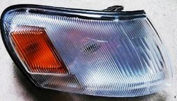 ((車燈大小事))[WS-R-TYC61]TOYOTA COROLLA AE100 /豐田 原廠型角燈