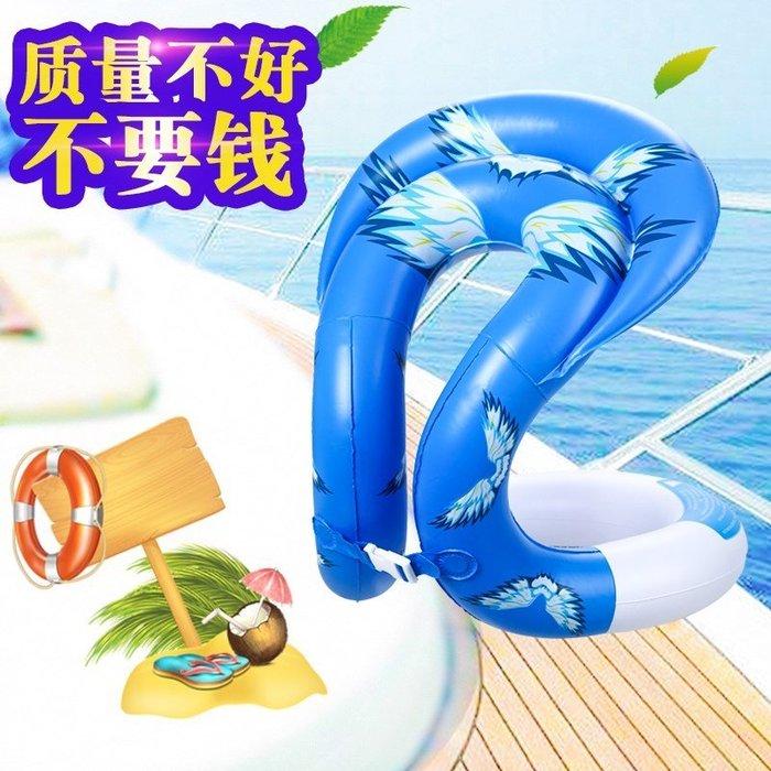 東大門平價鋪 兒童游泳雙氣囊充氣背心,男童女童 初學者游泳馬甲裝備用品,充氣浮力背心
