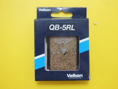 【BON】 Velbon 三腳架快拆板QB-5RL 適用PH-358,CX-586,C-500