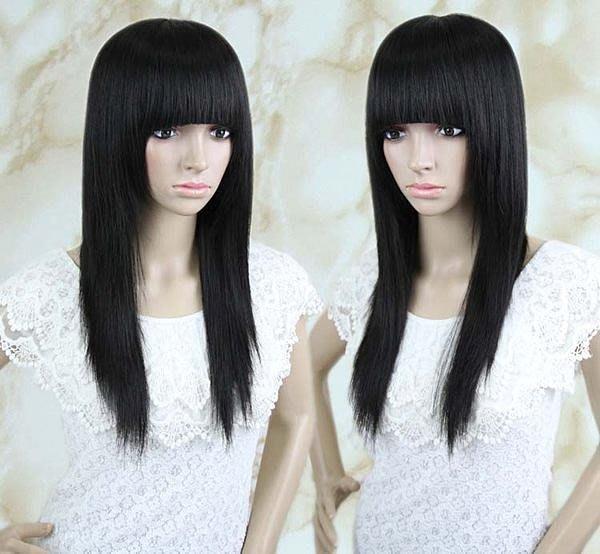 水媚兒假髮AL0989XHH 100%真髮 長直髮 -預購