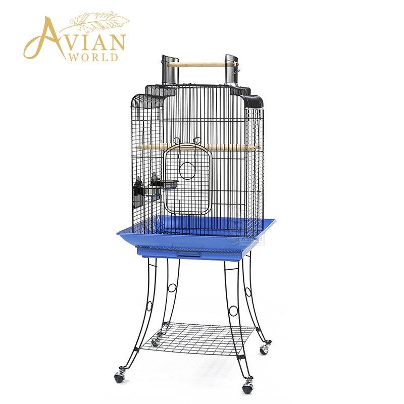 【接單引進】《寵物鳥世界》Avian World A72 鸚鵡鳥籠 豪華歐式籠 灰鸚鵡 亞馬遜 凱克 錐尾 玄鳳 牡丹