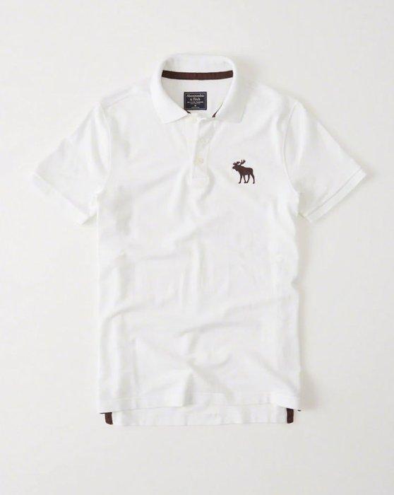 Abercrombie & Fitch Polo衫 121-224-0864-100 MY-麋鹿 全新真品 HCO AF