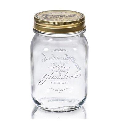 省錢工坊-Glasslock韓國經典玻璃密封罐1000ml 沙拉罐 梅森瓶 手工果醬瓶 咖啡豆罐 筆筒 玻璃杯 調味罐