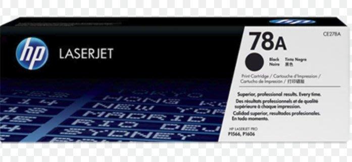 CE278A(78A) 原廠碳粉匣 HP P1566/P1606/P1606dn/M1536dnf