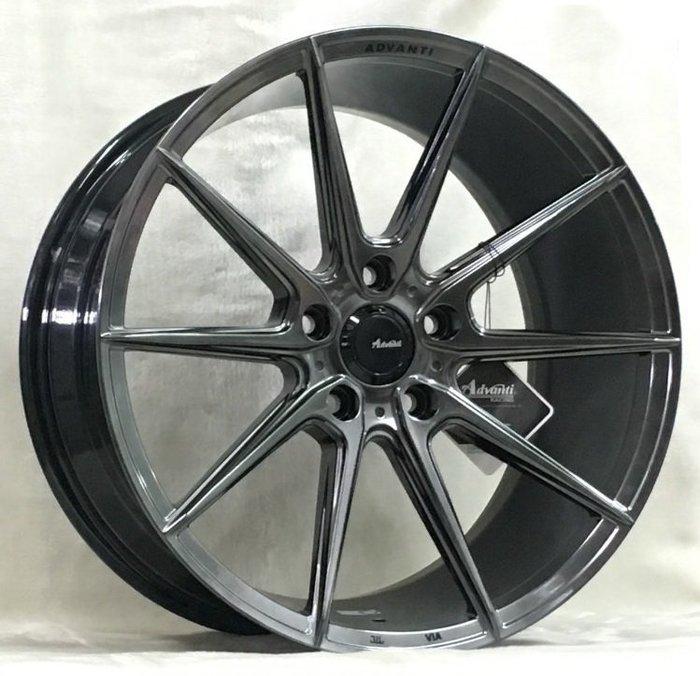 ╭☆輪鋪☆╯全新 MAT16 旋壓輕量化鋁圈 18吋5孔112 鈦銀色-VW/AUDI/SKODA/BENZ