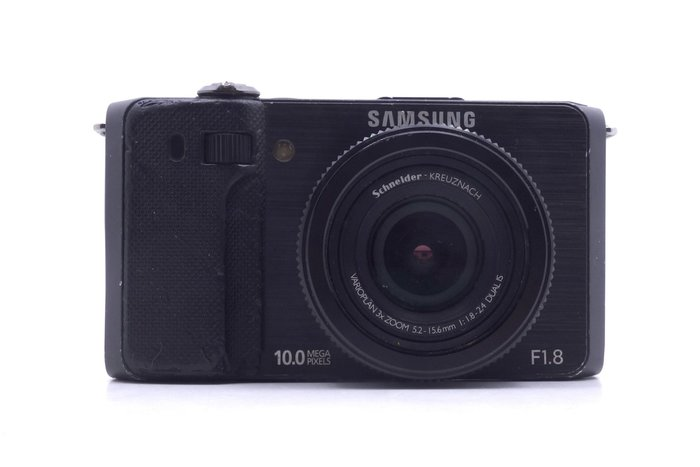 【台中競標】Samsung EX1 f1.8 自拍美肌 黑 無底價競標 標多少賣多少 鏡頭發霉 #16523