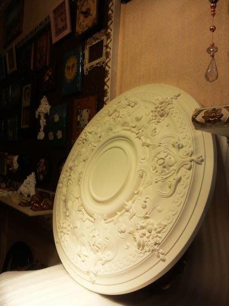 歐洲宮廷藝術精品- 巴洛克 立體PU浮雕燈座PO-32374( 74.5cm )@$2300