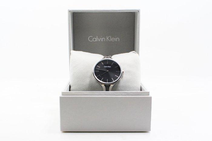 【高雄青蘋果3C】Calvin Klein CK graphic 系列女手環錶-黑面K7E23141#12058