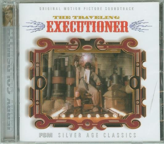 """The Traveling Executioner""-Jerry Goldsmith(92),全新美版"
