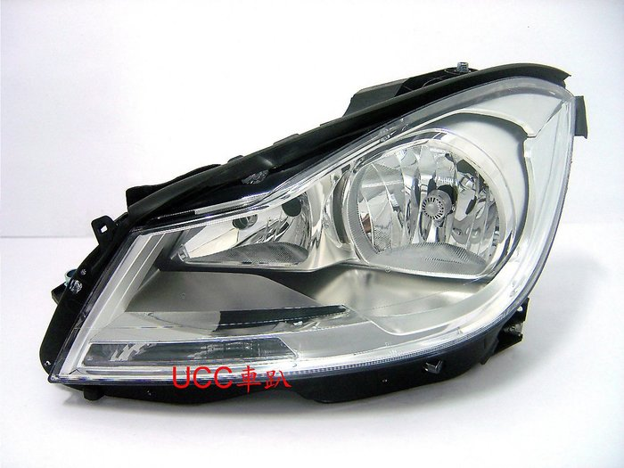 【UCC車趴】BENZ 賓士 W204 11  12 13 14 原廠型 晶鑽大燈 TYC製 一組6800