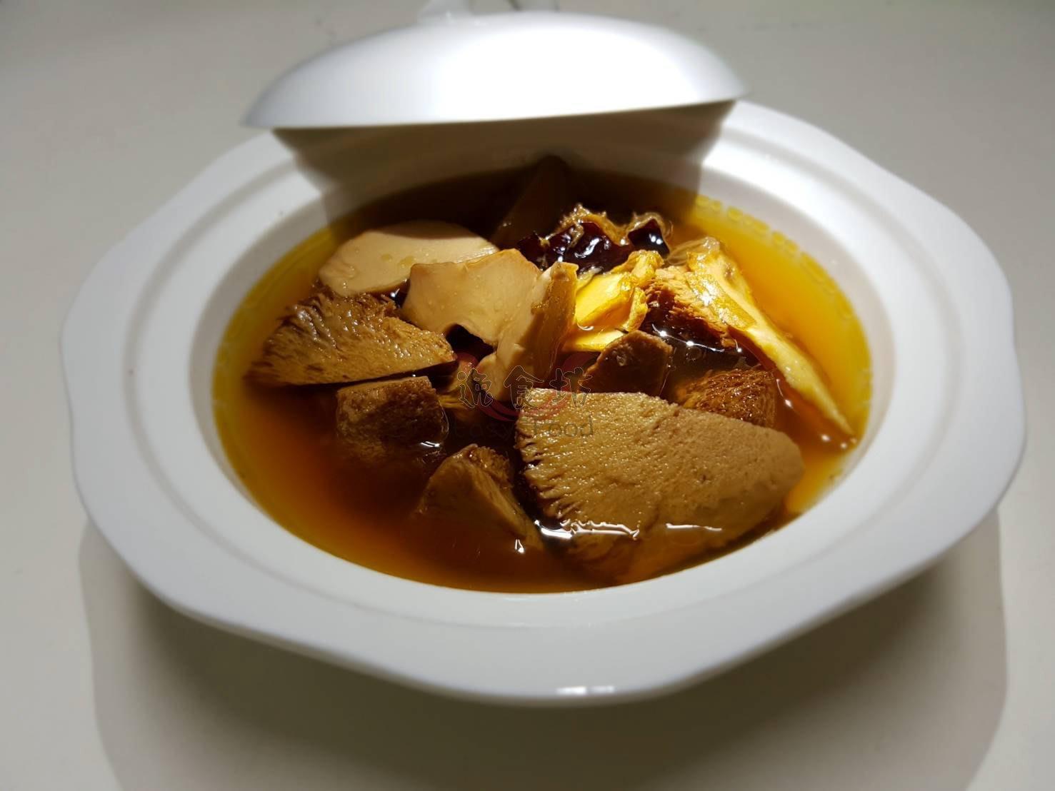 【逸食坊】個人獨享雞湯~素麻油猴頭菇(蛋奶素)(滿600免運費)
