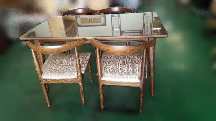 台中二手家具買賣推薦樂居 全新中古傢俱館*全新高級實木餐桌4椅 會議桌椅*洽談桌 戶外休閒桌 書桌 辦公桌 2手家具新竹