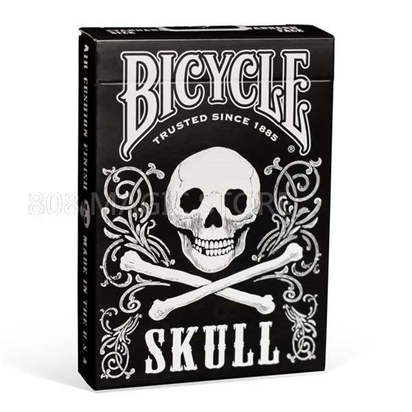 [808 MAGIC]魔術道具 Bicycle Skull Playing Cards