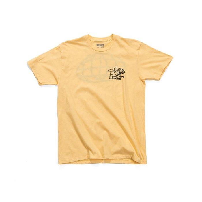 TransWorld SKATEboarding Gonz World T-Shirt - Squash
