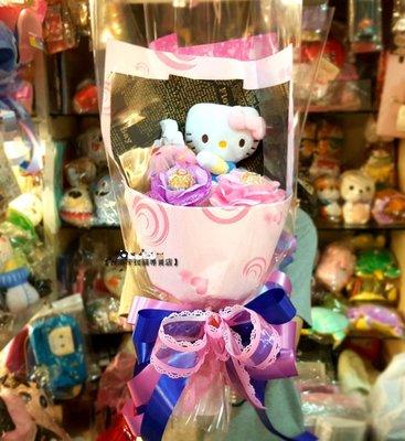 台南卡拉貓專賣店 Hello kitty主題花束 金莎花束 直立式花束 情人節送禮 求婚 畢業 生日 可繡字 可明天到